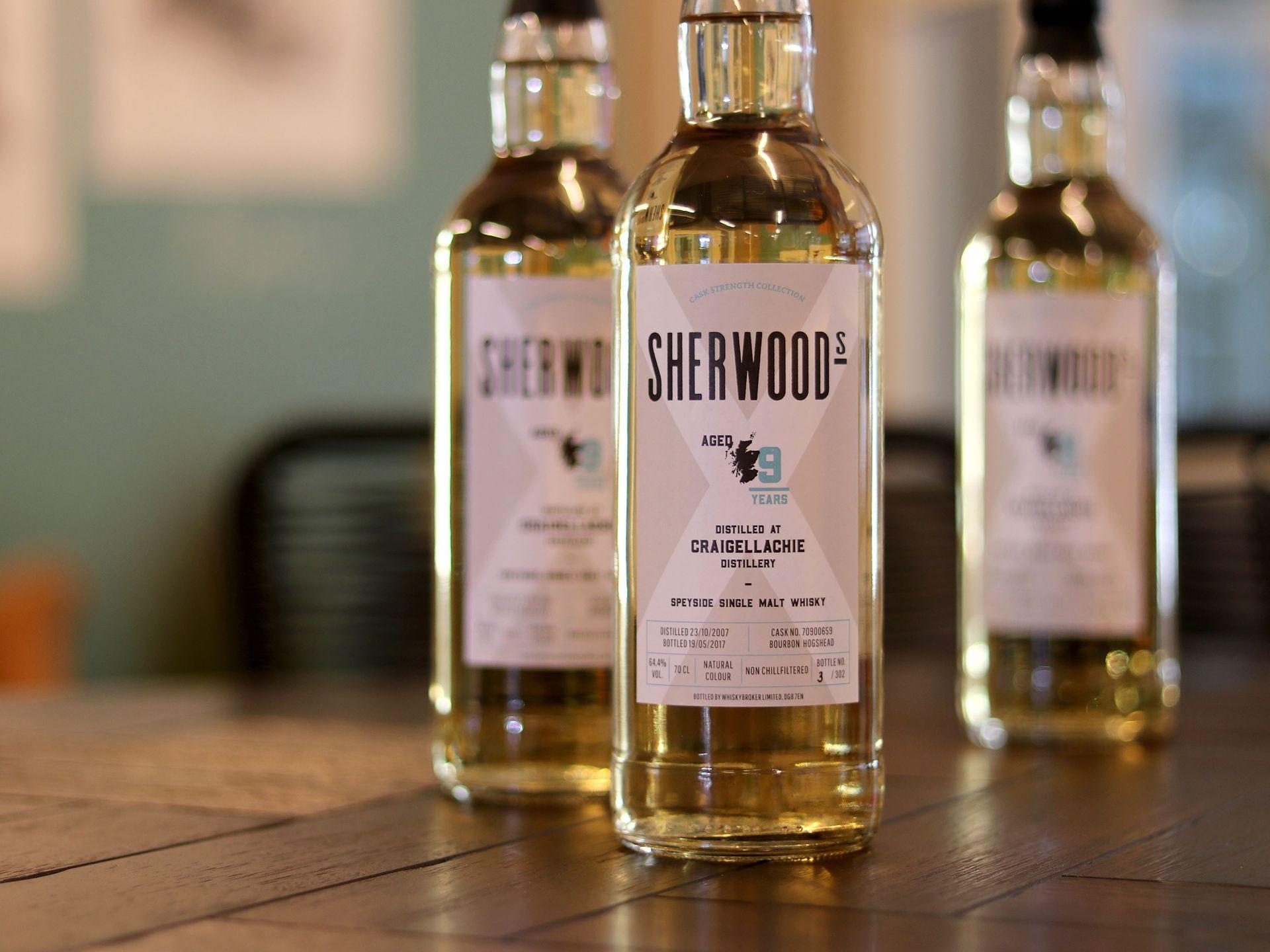 Sherwoods whisky
