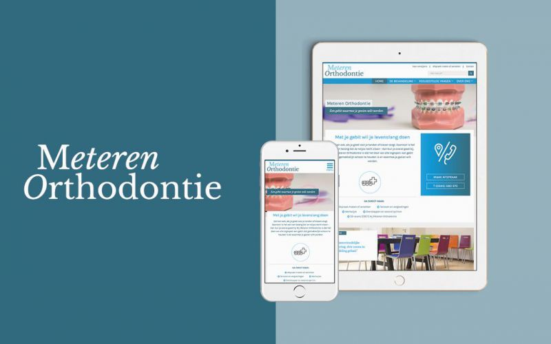 Meteren Orthodontie door Presskit Media